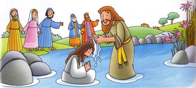 Il Battesimo Di Gesu Relincontro